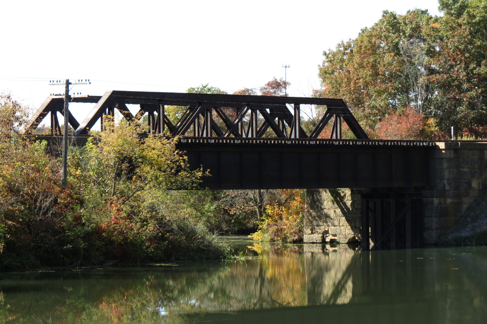 Railroad Bridge in Fall Creek 2012 2