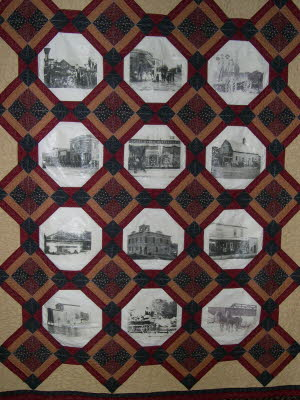 Fall Creek History Quilt