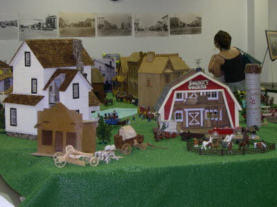 Display at Village Hall